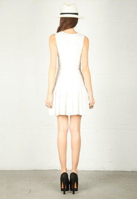 Torn By Ronny Kobo Laurie Dress in White
