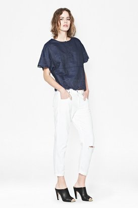 French Connection Morgana Boxy Top