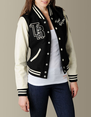 True Religion Womens Richie Varsity Jacket