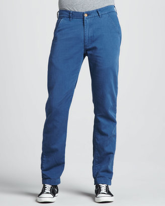 Levi's Spoke Cotton/Linen Chino Pants, Ensign Blue