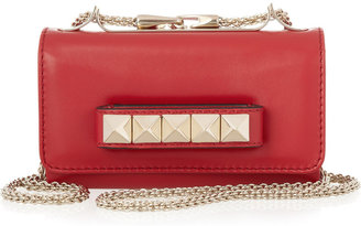 Valentino Mini VaVaVoom leather shoulder bag