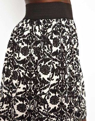Vila Printed Skirt