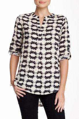 Pleione Long Sleeve Blouse $78 thestylecure.com