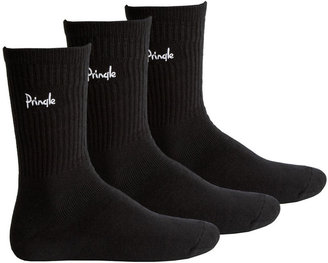 Pringle Men's Sports sock three pair pack