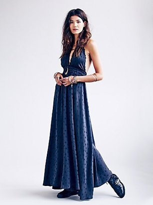 Free People Fancy Star Jacquard Dress