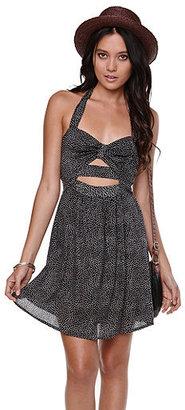 Kirra Halter Cutout Dress