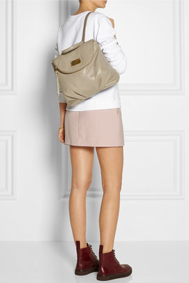Marc by Marc Jacobs Classic Q Mariska grained-leather backpack