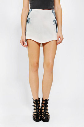 Urban Outfitters Cameo Here With Me Mini Skirt