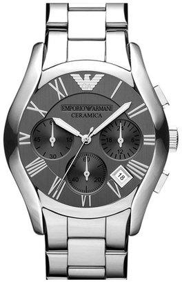 Emporio Armani Chronograph Titanium Ceramic Watch, 43mm