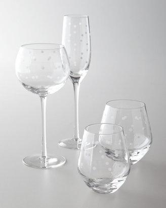 """Kate Spade Larabee Dot"""" Glassware"""