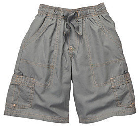 Osh Kosh OshKosh BGosh Boys' 2T-7 Grey Volleyball Cargo Shorts