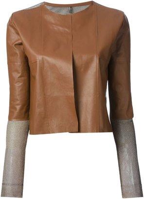 Aviu two-material jacket