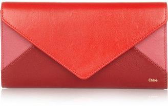 Chloé Patchwork leather wallet