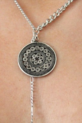 Vanessa Mooney Down The Road Necklace in Silver