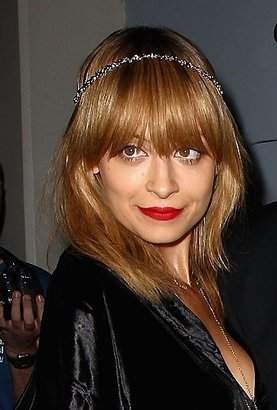 House Of Harlow Mixed Metal Skull Bead Headpiece as Seen On Nicole Richie