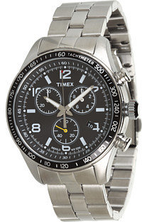 Timex Ameritus Chronograph Stainless Steel Bracelet Watch