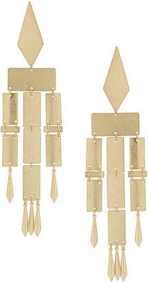 Topshop Articulated Drop Earrings