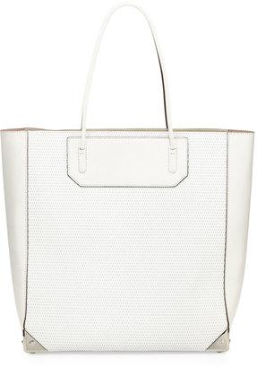 Alexander Wang Prisma 3D Leather-Mesh Tote Bag, Cellophane
