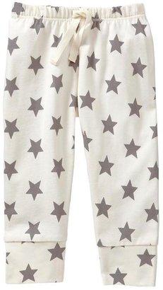 Gap Organic printed cuffed pants