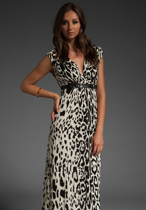 Tracy Reese Belted Empire Maxi