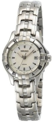 Seiko Women's SXDA29 Dress Silver-Tone Watch $270 thestylecure.com