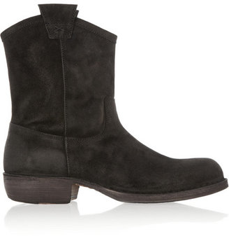 Fiorentini+Baker Fiorentini & Baker Cruna brushed-suede ankle boots