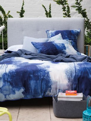 Sheridan Chroma cobalt king duvet cover, reversible