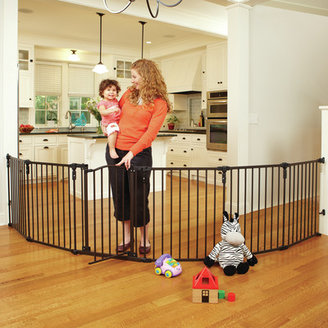 North States Superyard 3 in 1 Arched Décor Metal Play Yard
