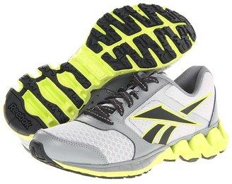 Reebok Kids - ZigKick Alpha (Big Kid) (Steel/Flat Grey/Neon Yellow/Gravel/Pure Silver) - Footwear