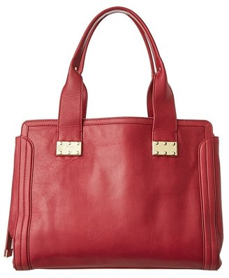 Foley + Corinna Plated Satchel (Lobster) - Bags and Luggage