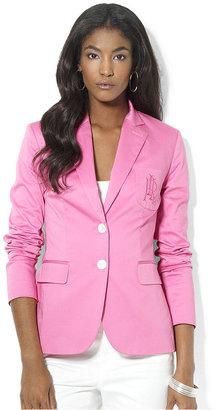 Lauren Ralph Lauren Jacket, Long-Sleeve Blazer