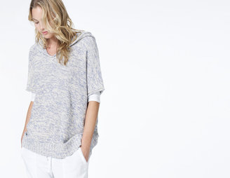 James Perse Hooded Beach Poncho