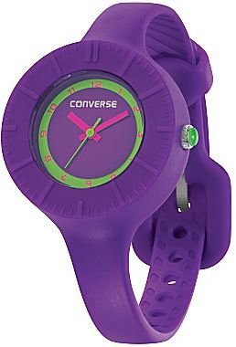Converse The Skinny Purple Silicone Watch