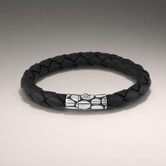 John Hardy KALI COLLECTION Woven Leather Bracelet
