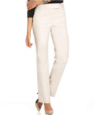 Charter Club Pants, Classic Fit Slim It Up Straight-Leg
