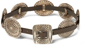 Polo Ralph Lauren Leather Concho Belt $595 thestylecure.com