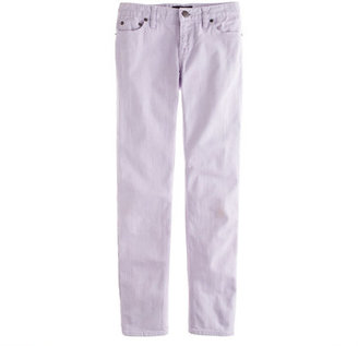 J.Crew Cropped matchstick jean in garment-dyed denim
