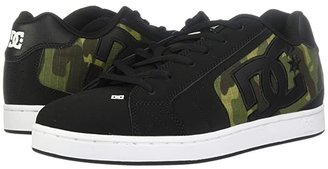 DC Net SE (Black/Camo Print) Men's Skate Shoes