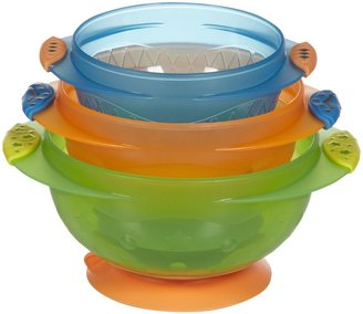 Munchkin Stay Put Suction Bowls - Multicolor