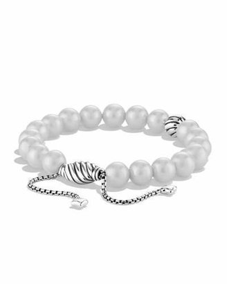 David Yurman Spiritual Beads Bracelet with Pearls $425 thestylecure.com