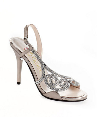 Red Carpet E!LIVE FROM THE Rhinestone Embellished Sandals