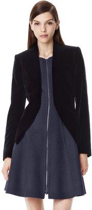 Theory Lanai Jacket in Matte Velveteen Stretch Cotton Velvet