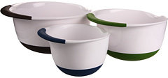OXO Good Grips® 3-Piece Mixing Bowl Set With Colored Handles