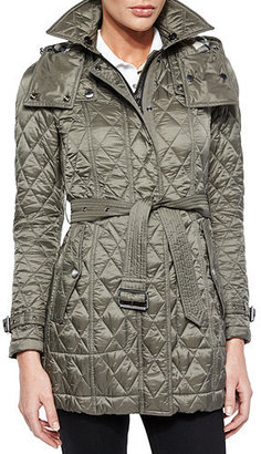Burberry Finsbridge Hooded Quilted Jacket $795 thestylecure.com