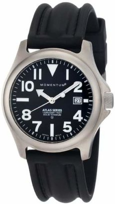 Momentum Men's 1M-SP00B1 Atlas Titanium Watch with Black Band