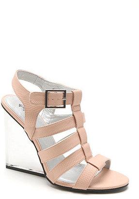 Qupid Burton Lucite Sandals
