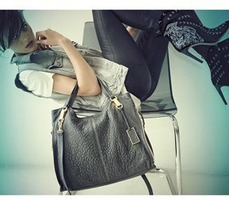 Vince Camuto 'Riley' Leather Tote - Black
