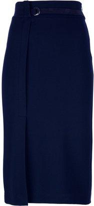 Polo Ralph Lauren straight midi skirt