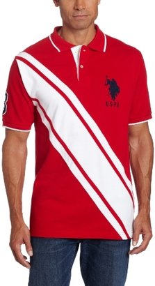 U.S. Polo Assn. Men's Color Block Polo