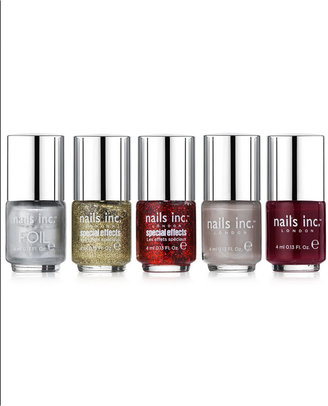Nails Inc 5 Piece The Editors Mini Collection
